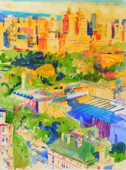 Tablou Canvas Fifth Avenue shadows over the Metropolitan