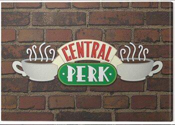 Tablou Canvas Friends - Central Perk Brick