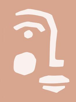 Tablou Canvas Graphic Portrait