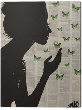 Tablou Canvas Loui Jover - Simplicity - Green