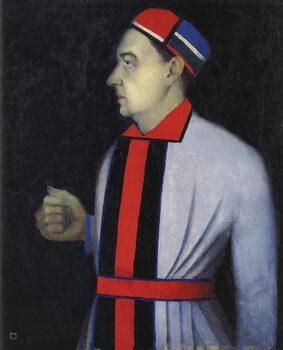 Tablou Canvas Portrait of Nikolai Punin