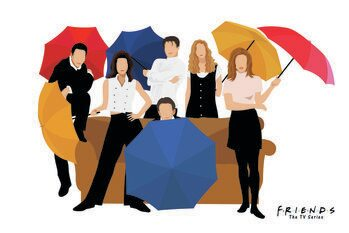 Tablou Canvas Prietenii tai - 1994