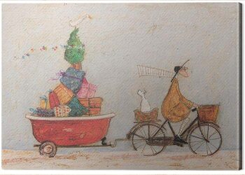 Tablou Canvas Sam Toft - A Tubful of Good Cheer