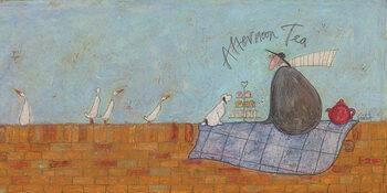 Tablou Canvas Sam Toft - Afternoon tea