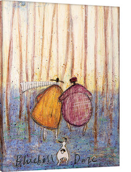 Tablou Canvas Sam Toft - Bluebell Daze
