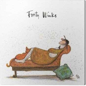 Tablou Canvas Sam Toft - Forty Winks