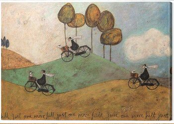 Tablou Canvas Sam Toft - Just One More Hill
