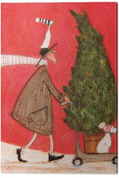 Tablou Canvas Sam Toft - Little Silent Christmas Tree