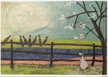 Tablou Canvas Sam Toft - Sam Toft - Doris and the Birdies