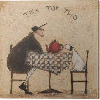 Tablou Canvas Sam Toft - Tea Fot Two