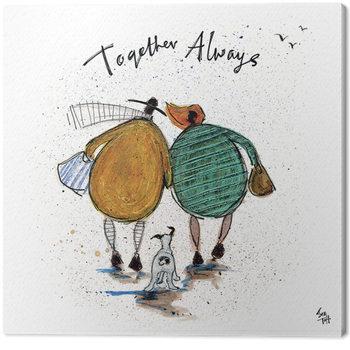 Tablou Canvas Sam Toft - Together Always
