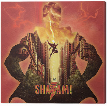Tablou Canvas Shazam - Shake The Heavens