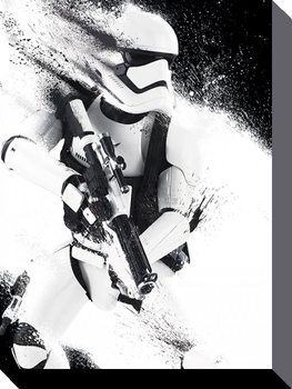 Tablou Canvas Star Wars Episode VII: The Force Awakens - TIE Fighter Icon
