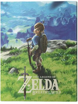 Tablou Canvas The Legend of Zelda: Breath of The Wild - View