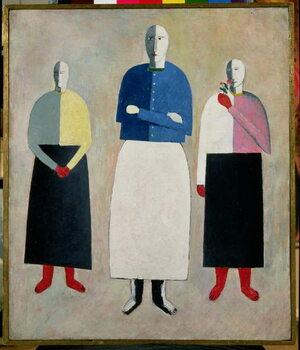 Tablou Canvas Three Little Girls