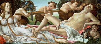 Tablou Canvas Venus and Mars, c.1485
