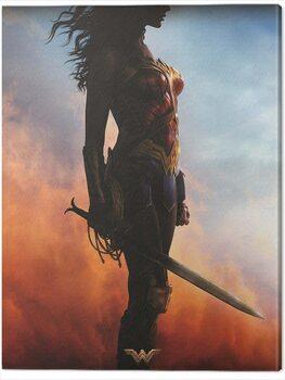 Tablou Canvas Wonder Woman - Teaser