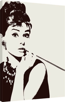 Audrey Hepburn - Cigarello Tablou Canvas