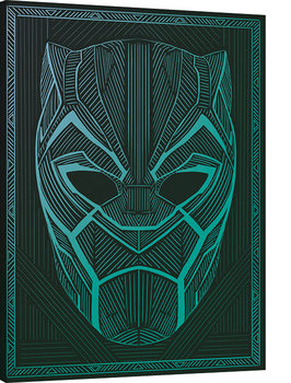 Black Panther - Tribal Mask Tablou Canvas