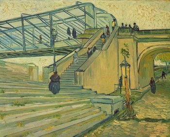 Bridge of Trinquetaille, 1888 Tablou Canvas