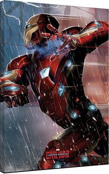 Captain America Civil War - Iron Man Tablou Canvas