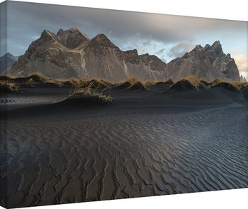 David Clapp - Stokksnes Beach, Iceland Tablou Canvas