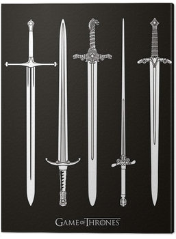 Game of Thrones - Swords Tablou Canvas