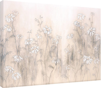 Hans Andkjaer - White Daisies Tablou Canvas