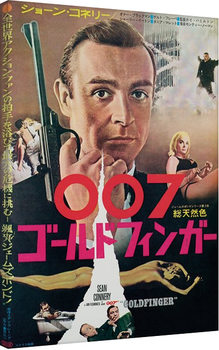 James Bond: From Russia with Love - Foreign Language Tablou Canvas
