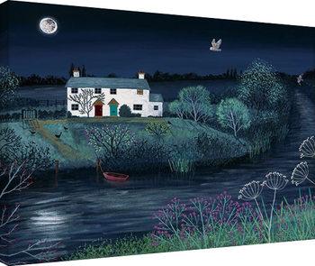 Jo Grundy - Moon River Tablou Canvas