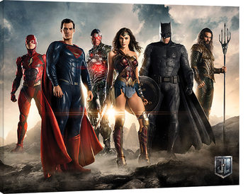Justice League Movie - Teaser Tablou Canvas