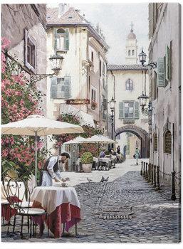 Richard Macneil - Cobbled Street Tablou Canvas