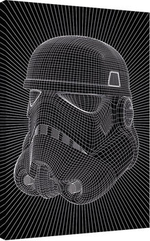 Star Wars - Stormtrooper Wire Tablou Canvas