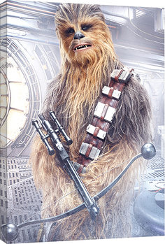 Star Wars The Last Jedi - Chewbacca Bowcaster Tablou Canvas