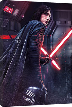 Star Wars The Last Jedi - Kylo Ren Rage Tablou Canvas