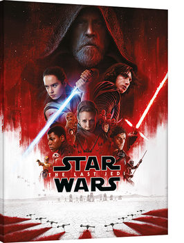 Star Wars The Last Jedi - One Sheet Tablou Canvas