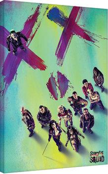 Suicide Squad - Face Tablou Canvas