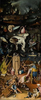 The Garden of Earthly Delights, 1490-1500 Tablou Canvas