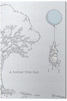 Winnie The Pooh - Bother Free Tablou Canvas