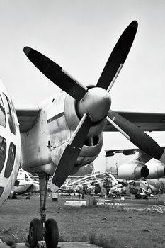 Tablouri pe sticla Plane - Cockpit