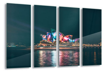 Tablouri pe sticla Sydney Lights