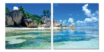 Blue lagoon Tablou