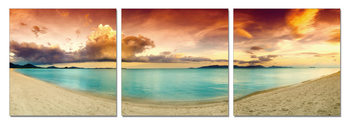 Colorful Beach Tablou