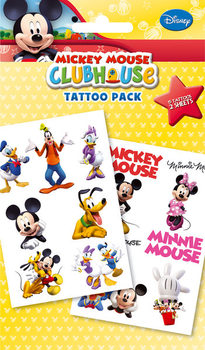 Tätowierung MICKEY MOUSE - club house