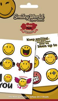 Tätowierung SMILEY 1