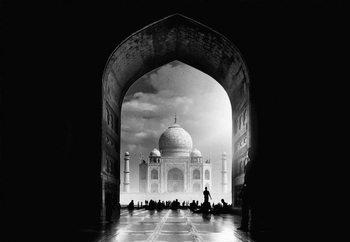 Ταπετσαρία τοιχογραφία  Taj Mahal