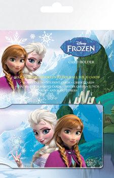 Tarjetero Frozen, el reino del hielo - Anna & Elsa