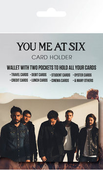 Tarjetero You Me At Six - Band