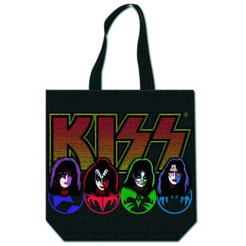 Kiss - Faces & Logo Táska