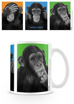 Tasse Affen - sehen Sie kein Übel, hören Sie kein Übel, sprechen Sie kein Übel